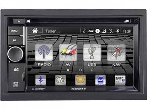 XZENT X-302BT 2-DIN NAVICEIVER MIT BLUETOOTH