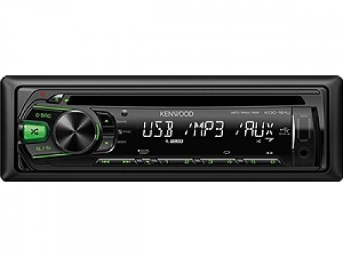 KENWOOD KDC-161UG MP3-TUNER GREEN USB AUX-IN