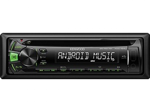 KENWOOD KDC-164UG MP3-TUNER GREEN USB AUX-IN
