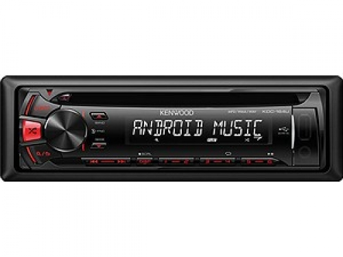 KENWOOD KDC-164UR MP3-TUNER RED USB AUX-IN