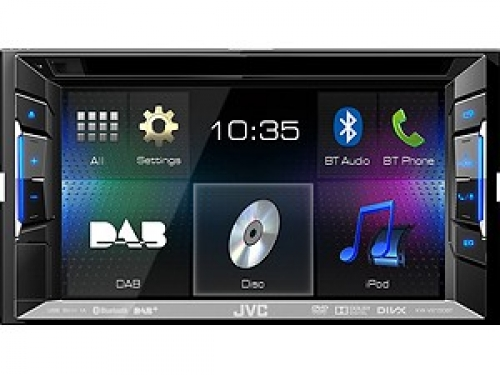 JVC KW-V215BT 2-DIN MONICEIVER DAB+ USB BLUET