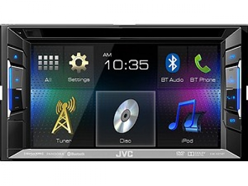 JVC KW-V21BT 2-DIN MONICEIVER USB BLUETOOTH