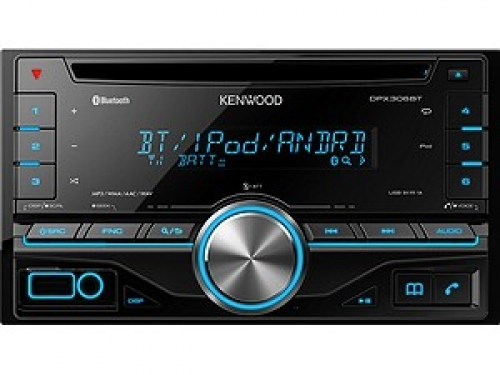 KENWOOD DPX-306BT 2-DIN MP3-TUNER BLUETOOTH