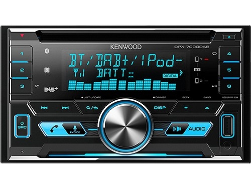 KENWOOD DPX-7000DAB 2-DIN MP3-TUNER BT DAB