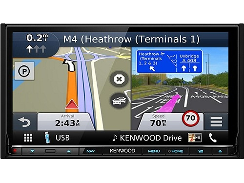 KENWOOD DNX8160DABS 2-DIN NAVIGATION BT