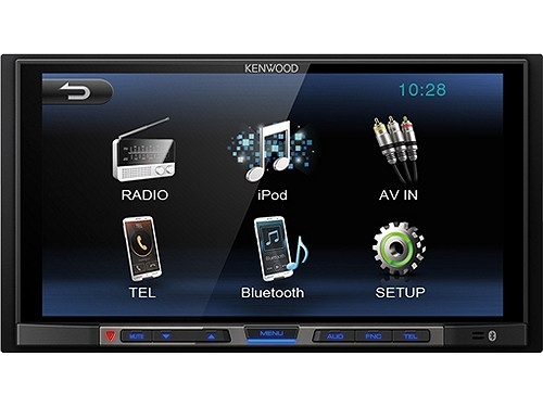 KENWOOD DMX100BT MEDIACEIVER 2-DIN BLUETOOTH