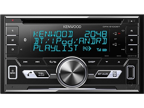 KENWOOD DPX-5100BT 2-DIN MP3-TUNER BLUETOOTH