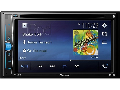 PIONEER AVH-A200BT 2-DIN MONICEIVER BLUETOOTH