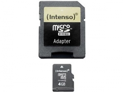 INTENSO MICROSD-KARTE 8 GB + SD-ADAPTER