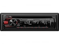 KENWOOD KDC-161UR MP3-TUNER RED USB AUX-IN