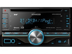 KENWOOD DPX-406DAB 2-DIN MP3-TUNER BLUETOOTH