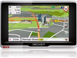 BECKER ACTIVE.5 MIT 5 DISPLAY UND LMU