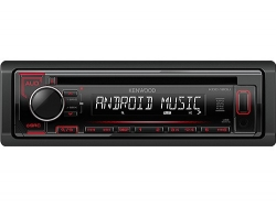 KENWOOD KDC-120UR MP3-Tuner red USB + Aux-IN